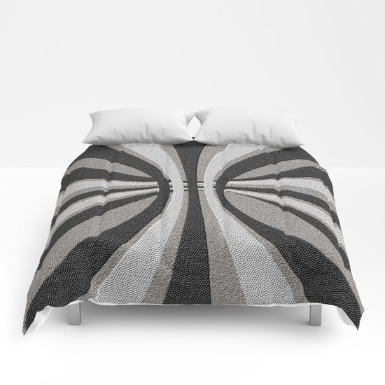 Grayscale Design Comforters