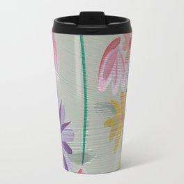 Rain Flowers Travel Mug