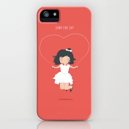 Jump for Joy iPhone Case