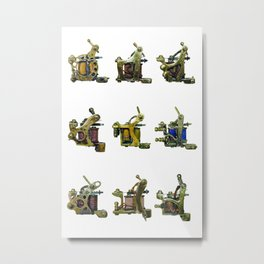 garage irons Metal Print