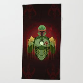 The Bounty Hunter Beach Towel