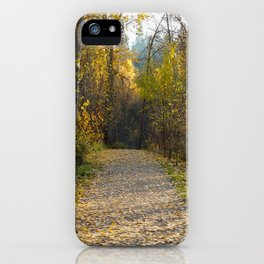 Leaf of the Fall iPhone Case