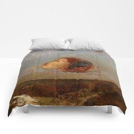 "Odilon Redon ""Hommage a Goya"" Comforters"