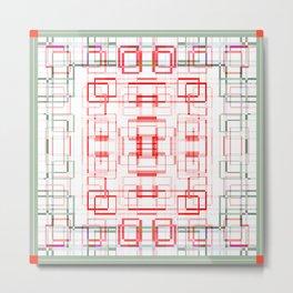 HK tablecloth Metal Print