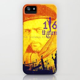 One Sixth Ism Vol.3 iPhone Case