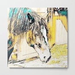 Impressive Animal - Horse Metal Print