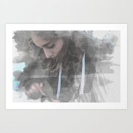 Acquarello Art Print