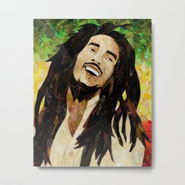 Marley Collage Metal Print