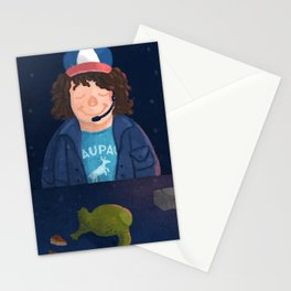 Dustin and Dart Stationery Cards