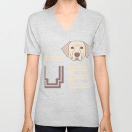 I Love Labradors Unisex V-Neck