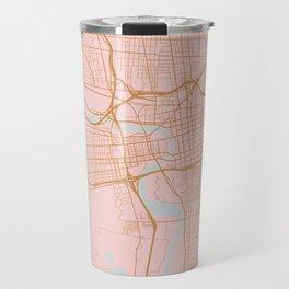 Columbus map, Ohio Travel Mug