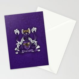 Hawk eye Coat of Arms Stationery Cards