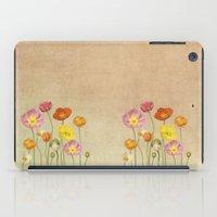 poppy iPad Cases featuring Poppy by Anne Seltmann