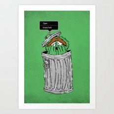 NO! NO! NO! Art Print