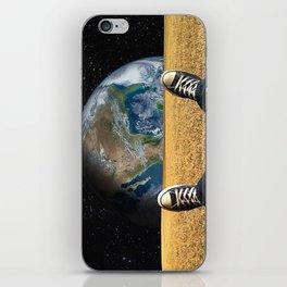 World view iPhone Skin