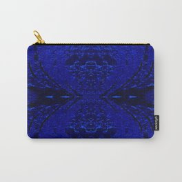 Blue Hour Glass Carry-All Pouch