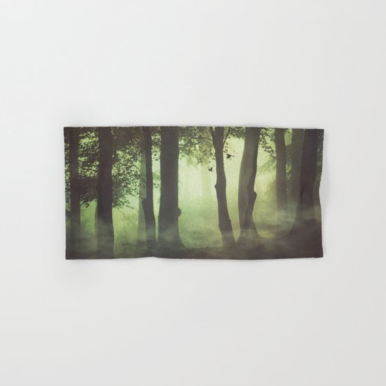 Wispy Forest Mists Hand & Bath Towel