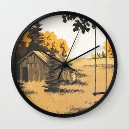 Forgotten Place Wall Clock