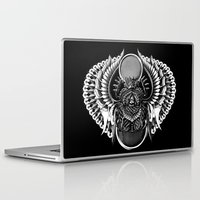 egyptian Laptop & iPad Skins featuring Egyptian Scarab by BIOWORKZ