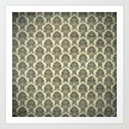 Pixel wallpaper 5 Art Print