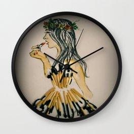 Touch Up..Make Up Wall Clock