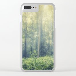 serene woodlands Clear iPhone Case