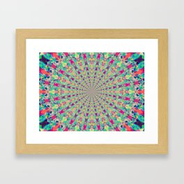Colour Jackpot Framed Art Print