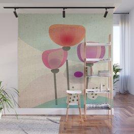Naive Blooms Wall Mural