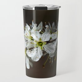 Blackthorn flowers Travel Mug