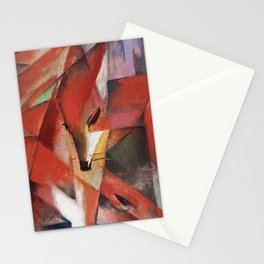 Franz Marc - The Foxes, 1913 Stationery Cards