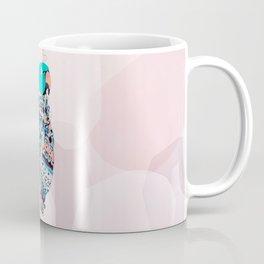 Bird and foulard Coffee Mug