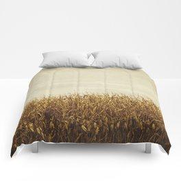 corn field Comforters