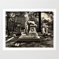 Weeping Angel 3 Art Print