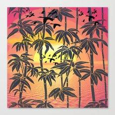 SUN DUCKS Canvas Print