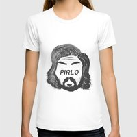 pirlo T-shirts featuring Pirlo B&W by wearwolves