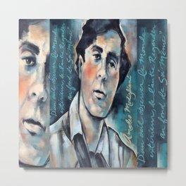 Portrait of Modigliani Metal Print