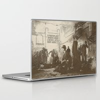 boardwalk empire Laptop & iPad Skins featuring boardwalk by Nechifor Ionut