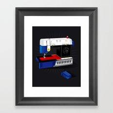 Ma-Singer Framed Art Print
