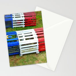 Acadian Lobster Traps Stationery Cards