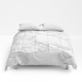 White Marble Edition 2 Comforters