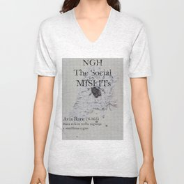 The SocialMisfits // NGH Unisex V-Neck