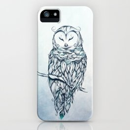 Snow Owl iPhone Case