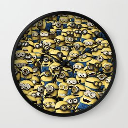 Despicable Minion Wall Clock