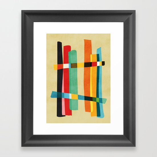 Broken Fences Framed Art Print