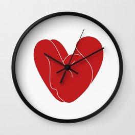 Pose Wall Clock