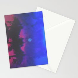 MIDNIGHT RAGE Stationery Cards