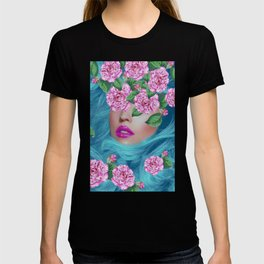 Lady with Camellias T-shirt