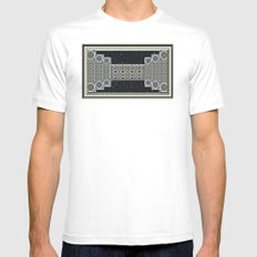 Stairway to Heaven MEDIUM Mens Fitted Tee White