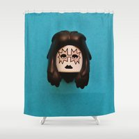 ace Shower Curtains featuring Ace by Beastie Toyz