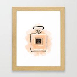 Orange Perfume Framed Art Print